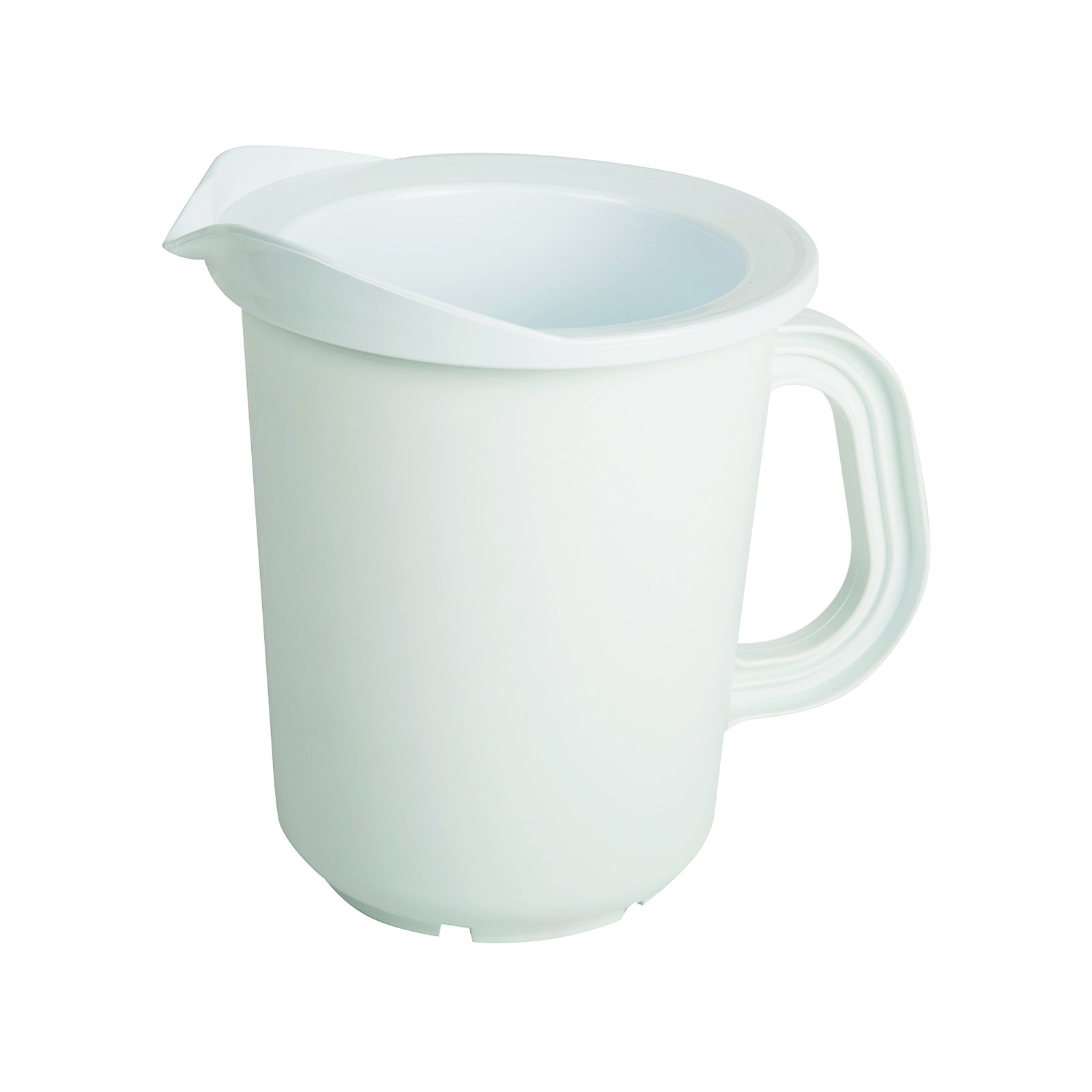 San Jamar CI7025 pitcher, plastic