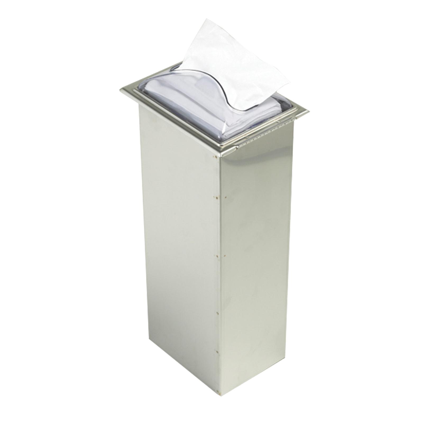 San Jamar H2003CLSS12 paper napkin dispenser