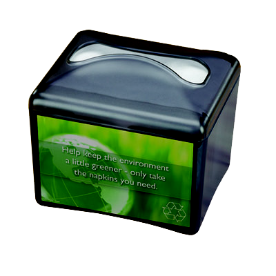 San Jamar H4003TBK paper napkin dispenser