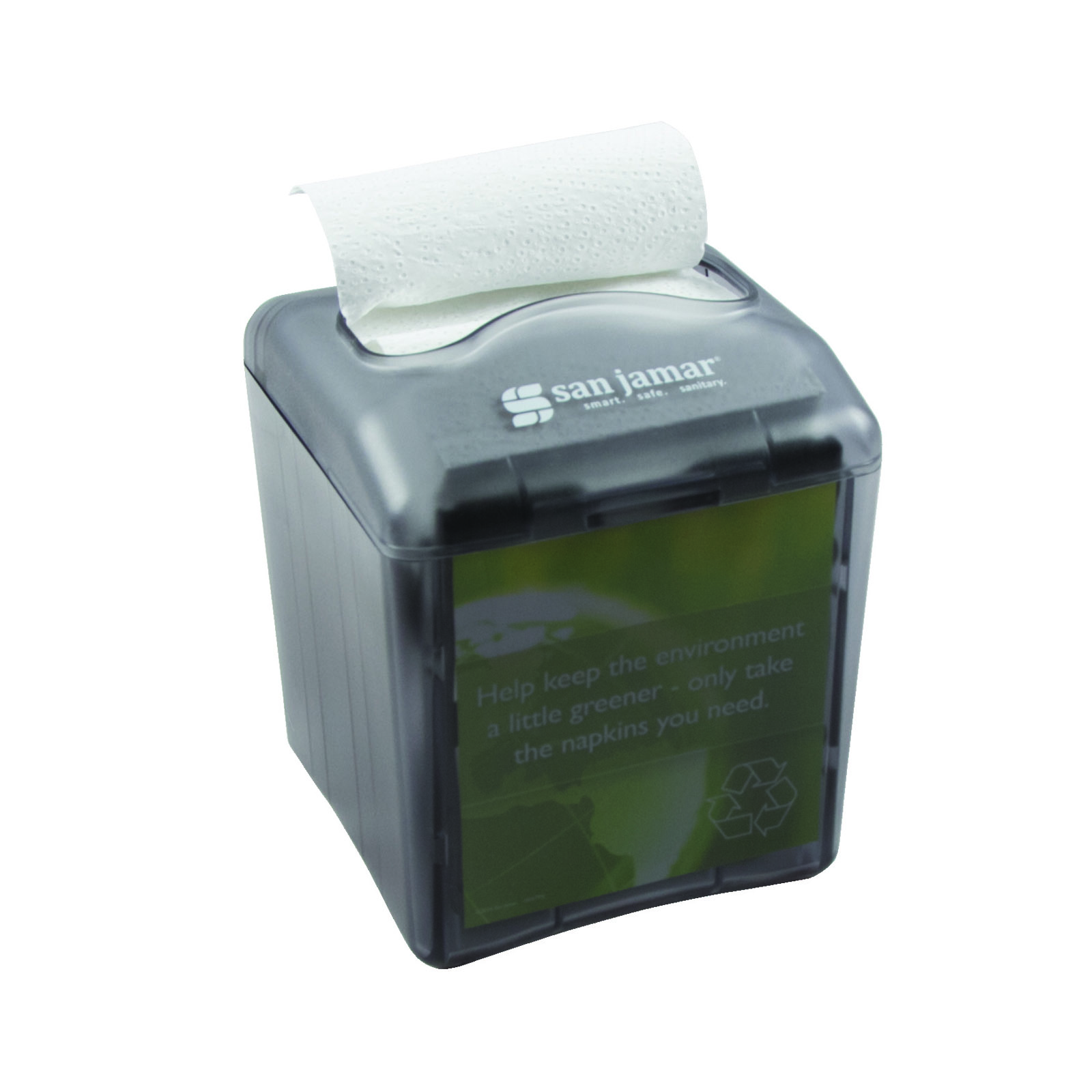 San Jamar H4006TBK paper napkin dispenser