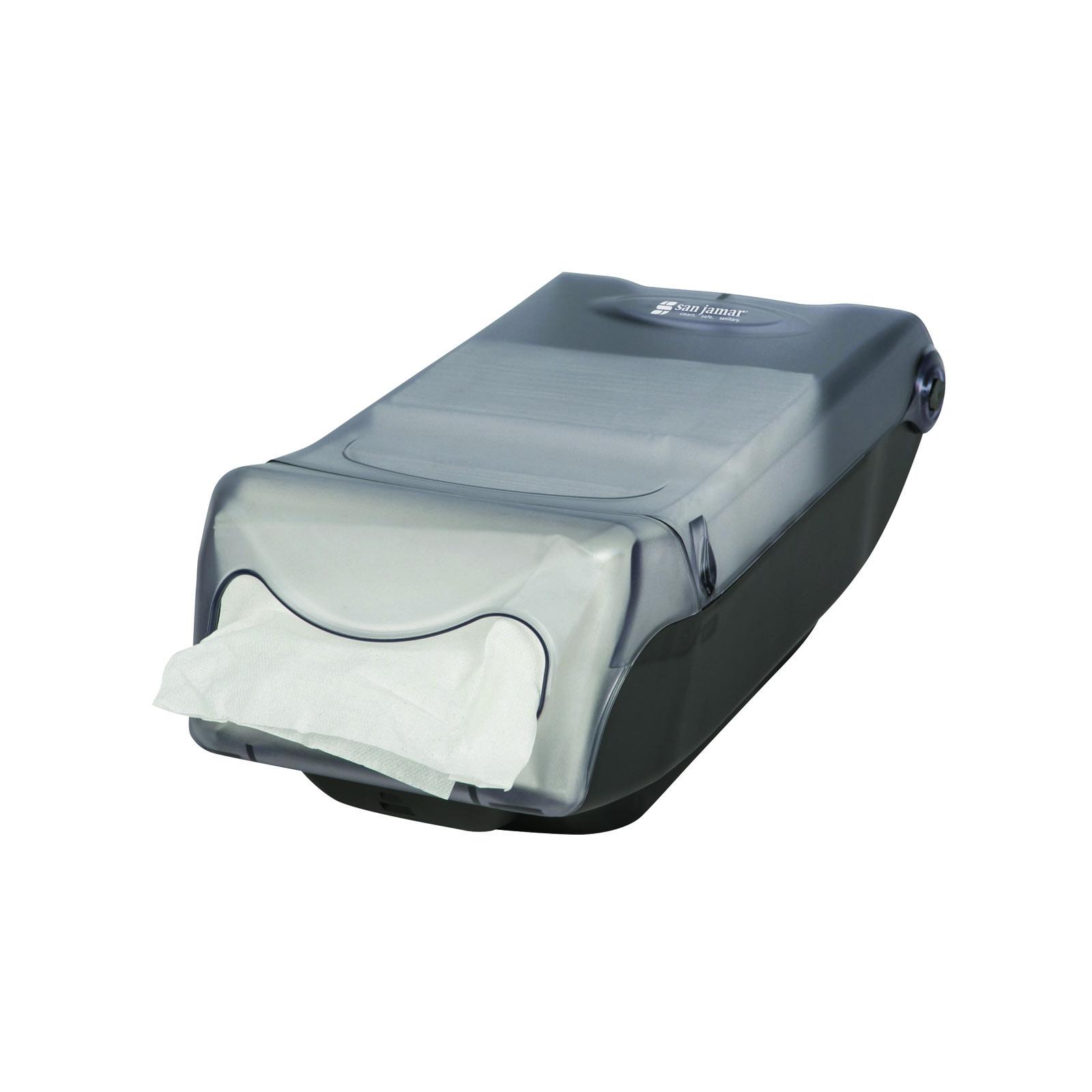San Jamar H5004CL paper napkin dispenser