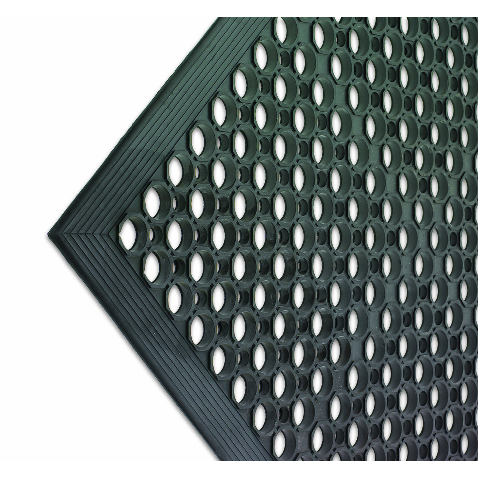 San Jamar KM1100B floor mat, anti-fatigue