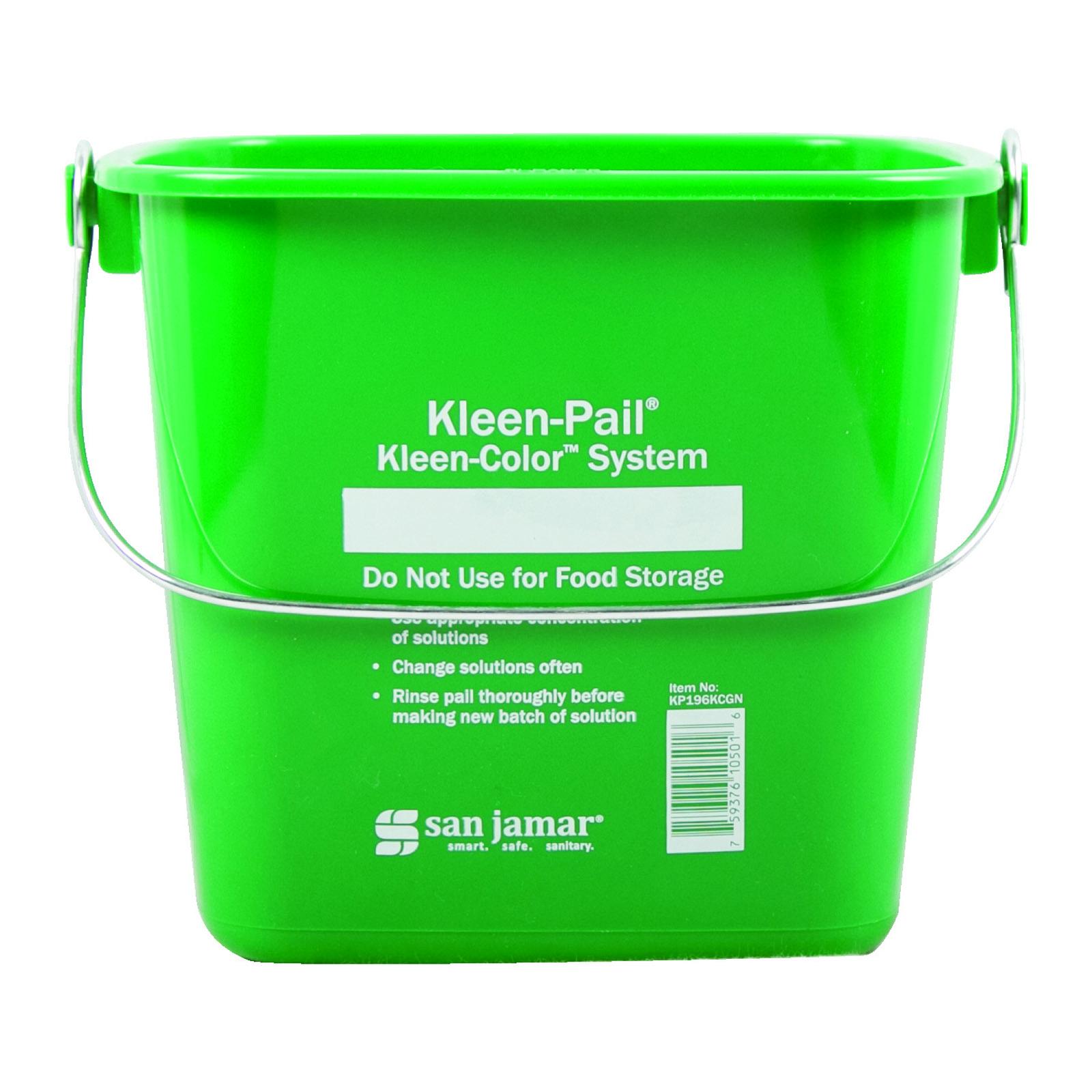 San Jamar KP196KCGN bucket