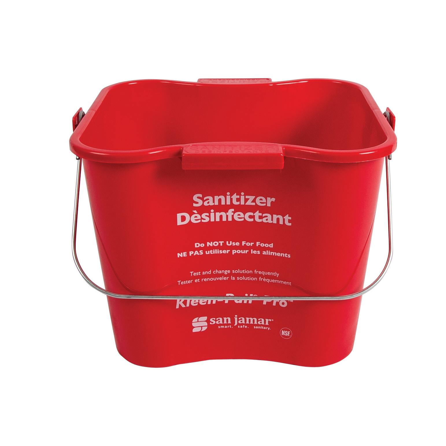 San Jamar KPP196RD bucket