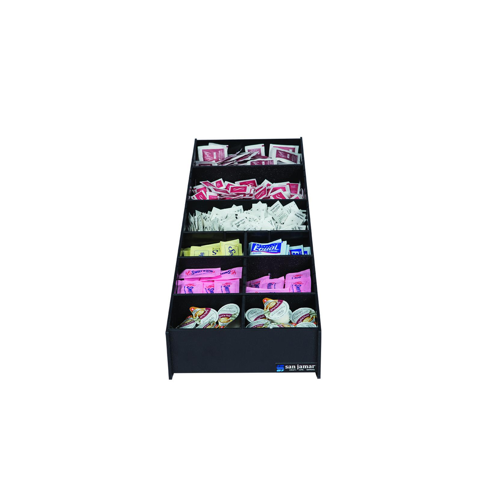 San Jamar L2900 condiment caddy, countertop organizer