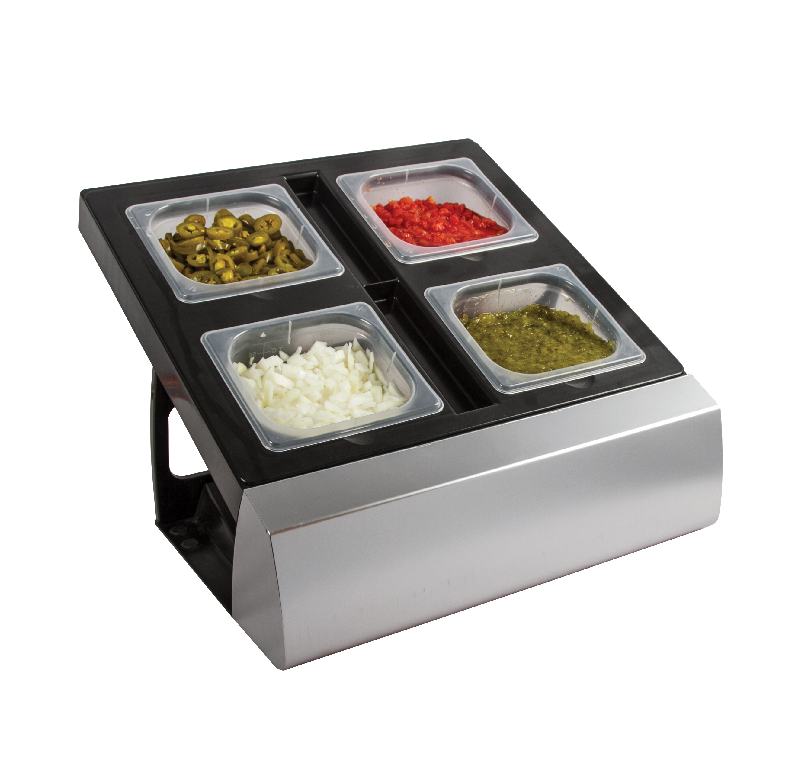 San Jamar MODMP16KIT bar condiment holder