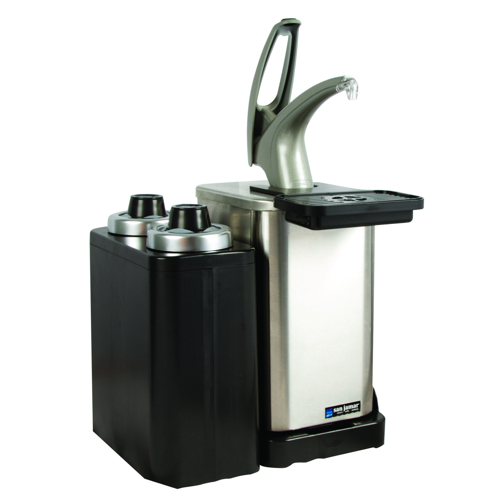 San Jamar MODP4900CC condiment dispenser pump-style
