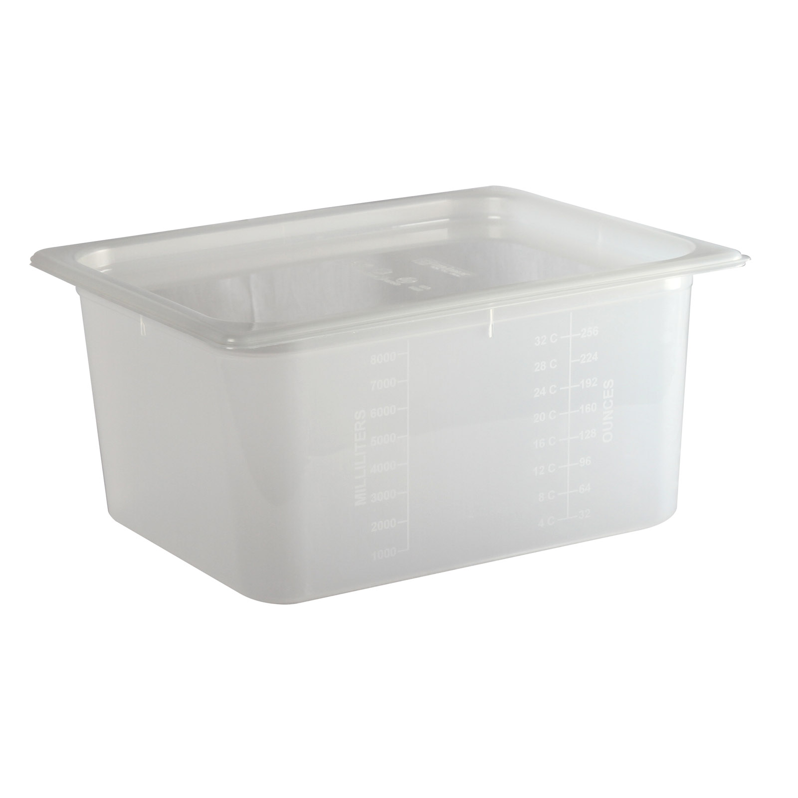 San Jamar MP12 food pan, plastic