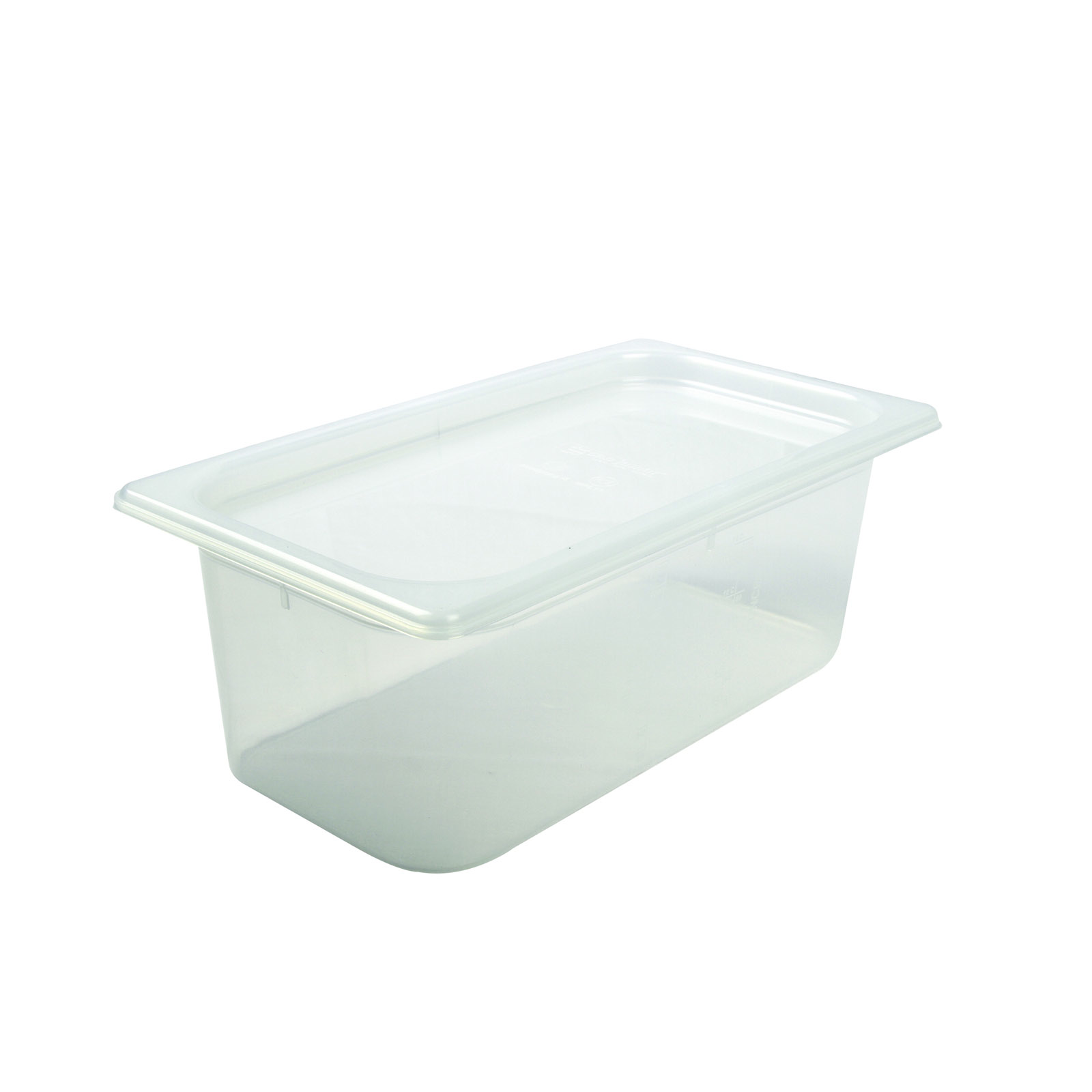 San Jamar MP13 food pan, plastic