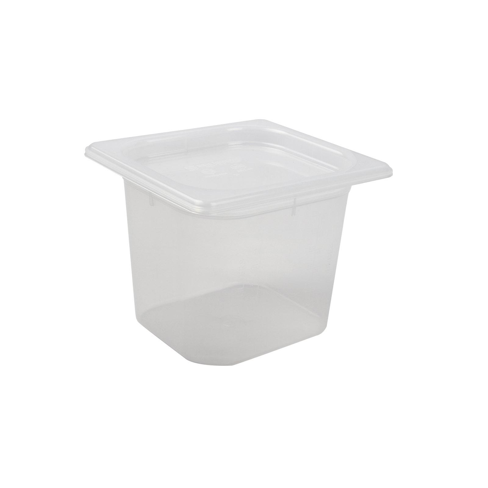 San Jamar MP16RD food pan, plastic
