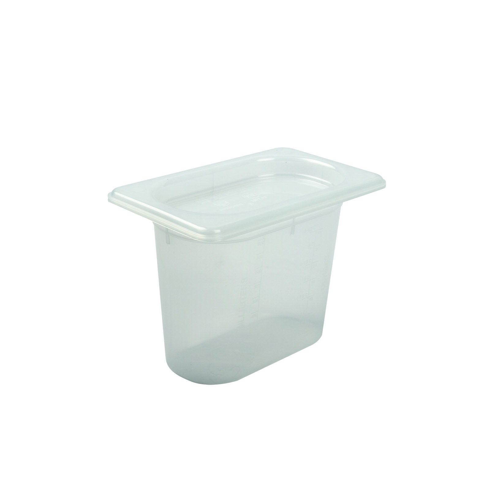 San Jamar MP19RD food pan, plastic