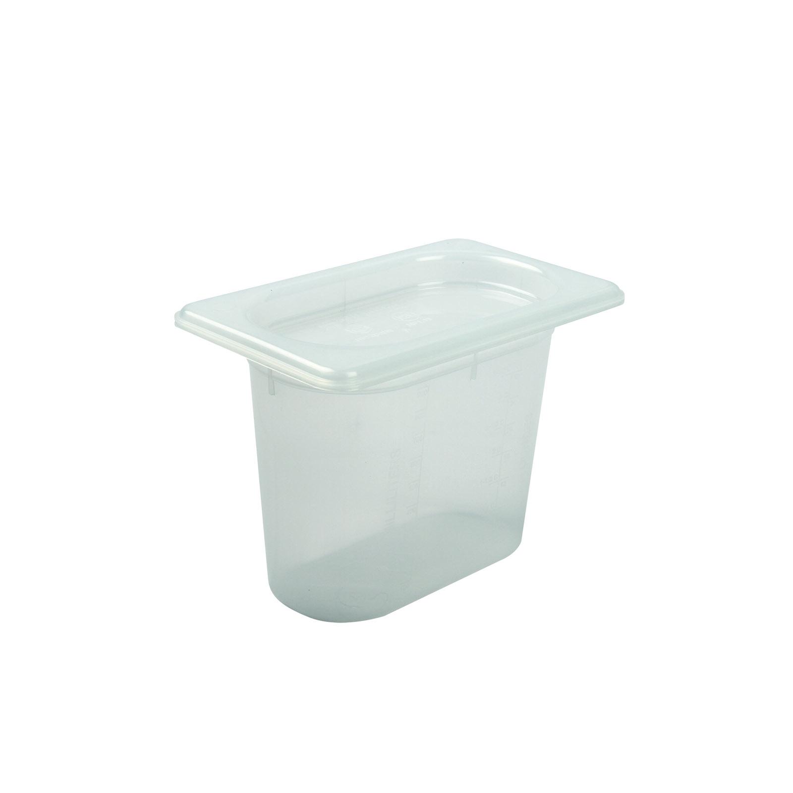 San Jamar MP19RD food pan, plastic