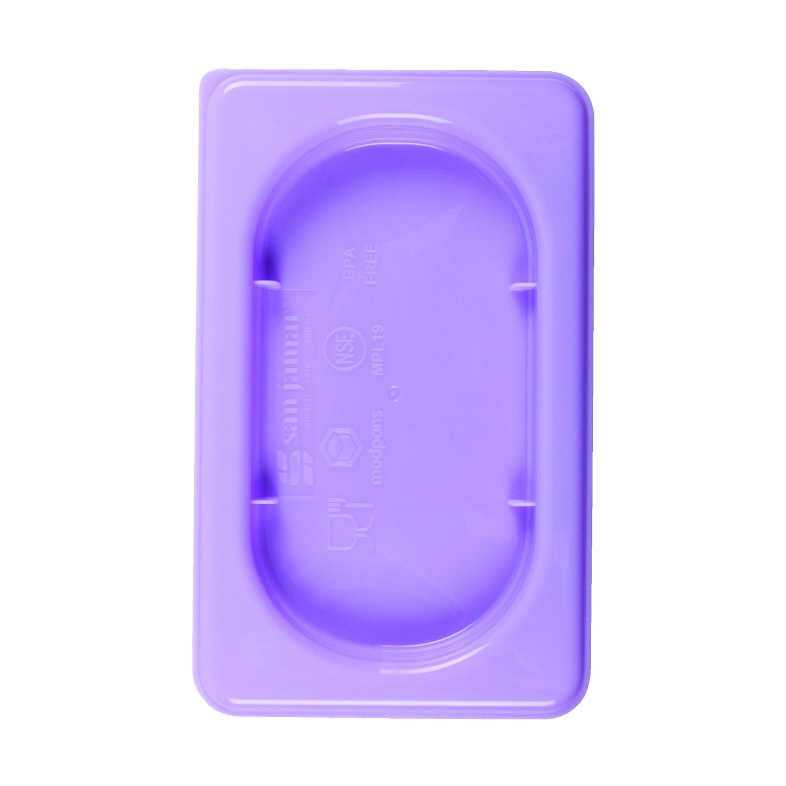San Jamar MPL12PR food pan cover, plastic