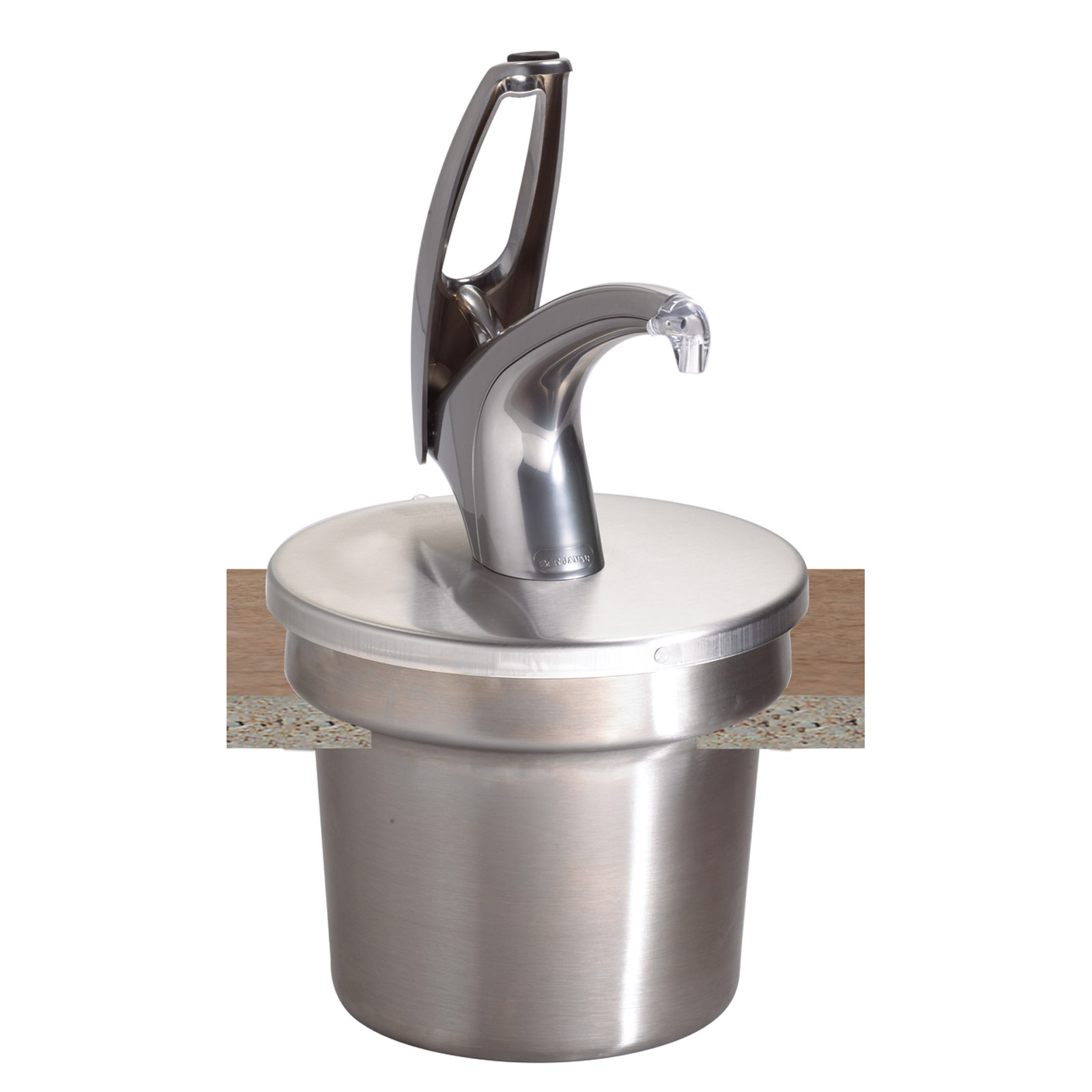 San Jamar P4710 condiment dispenser pump-style