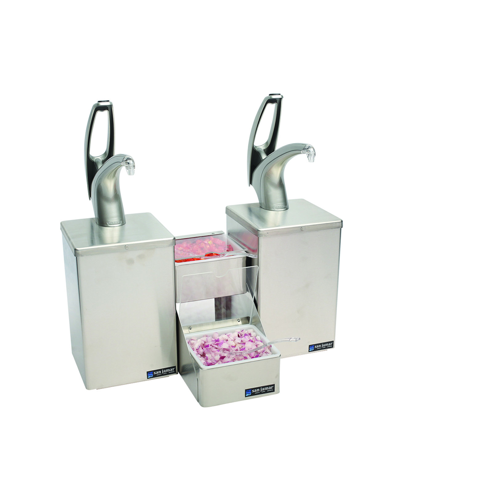 San Jamar P4826 condiment dispenser pump-style