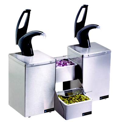 San Jamar P4826BK condiment dispenser pump-style