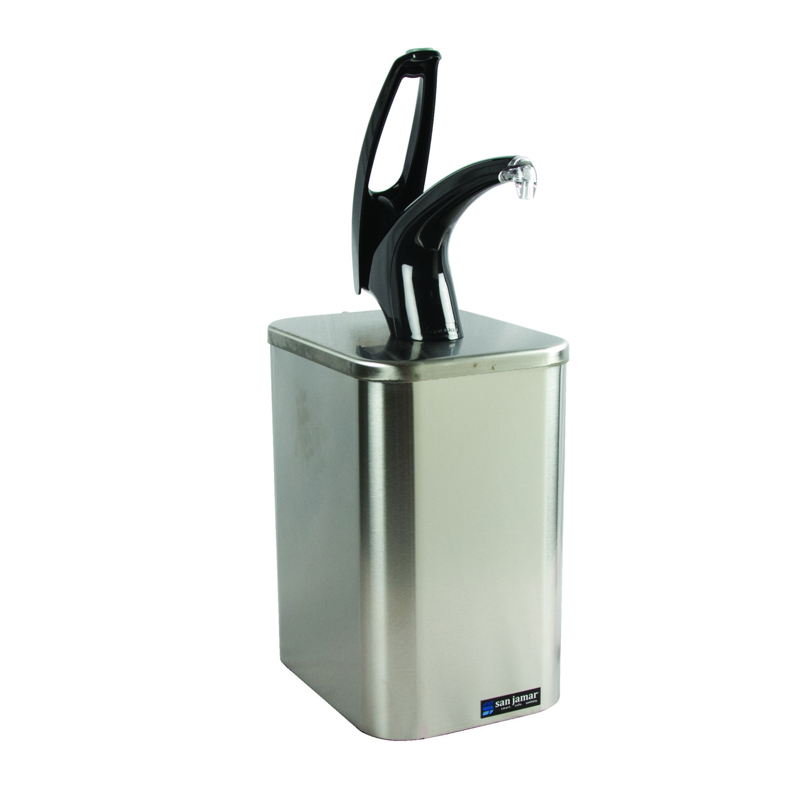 San Jamar P4900BK condiment dispenser pump-style