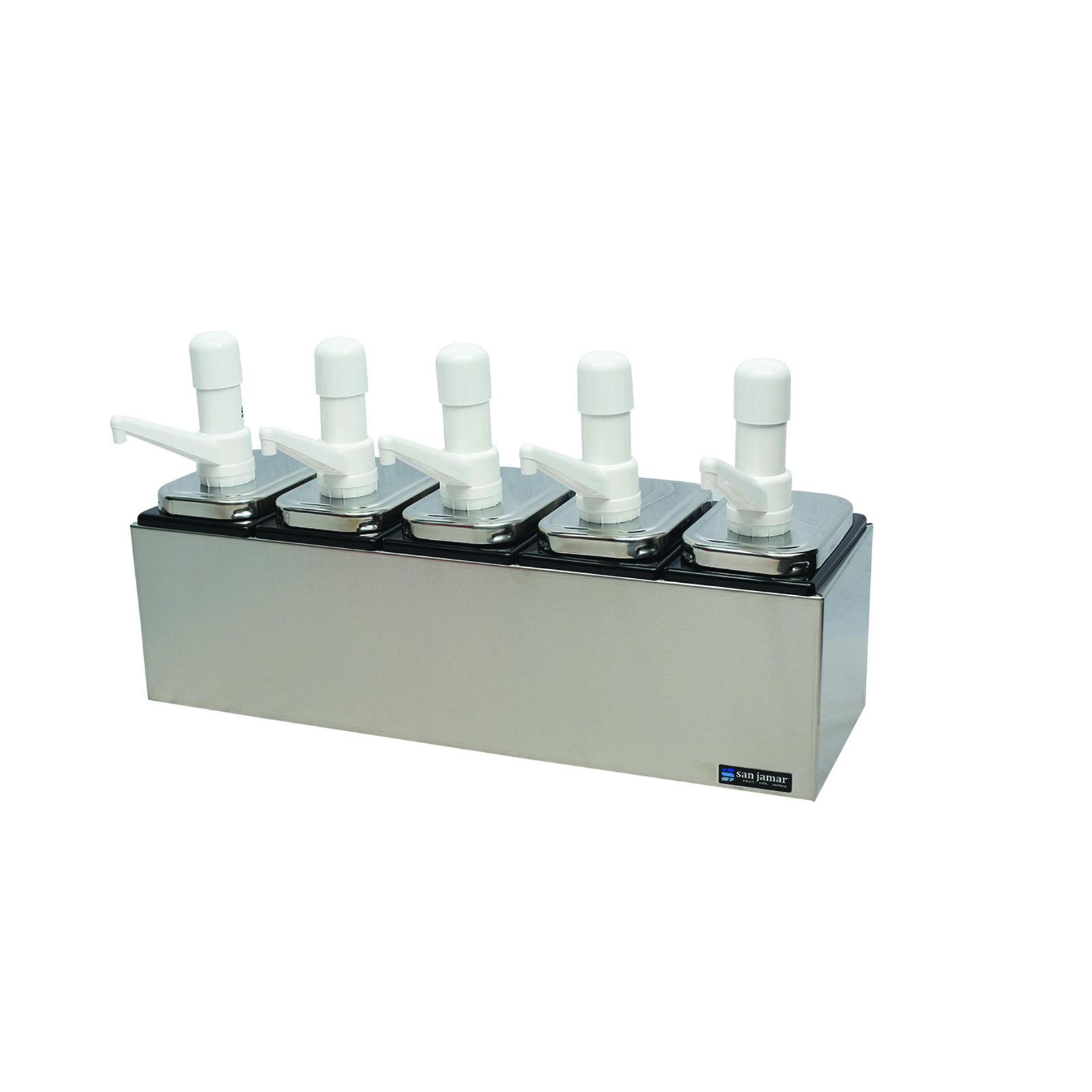 San Jamar P9715 condiment dispenser pump-style