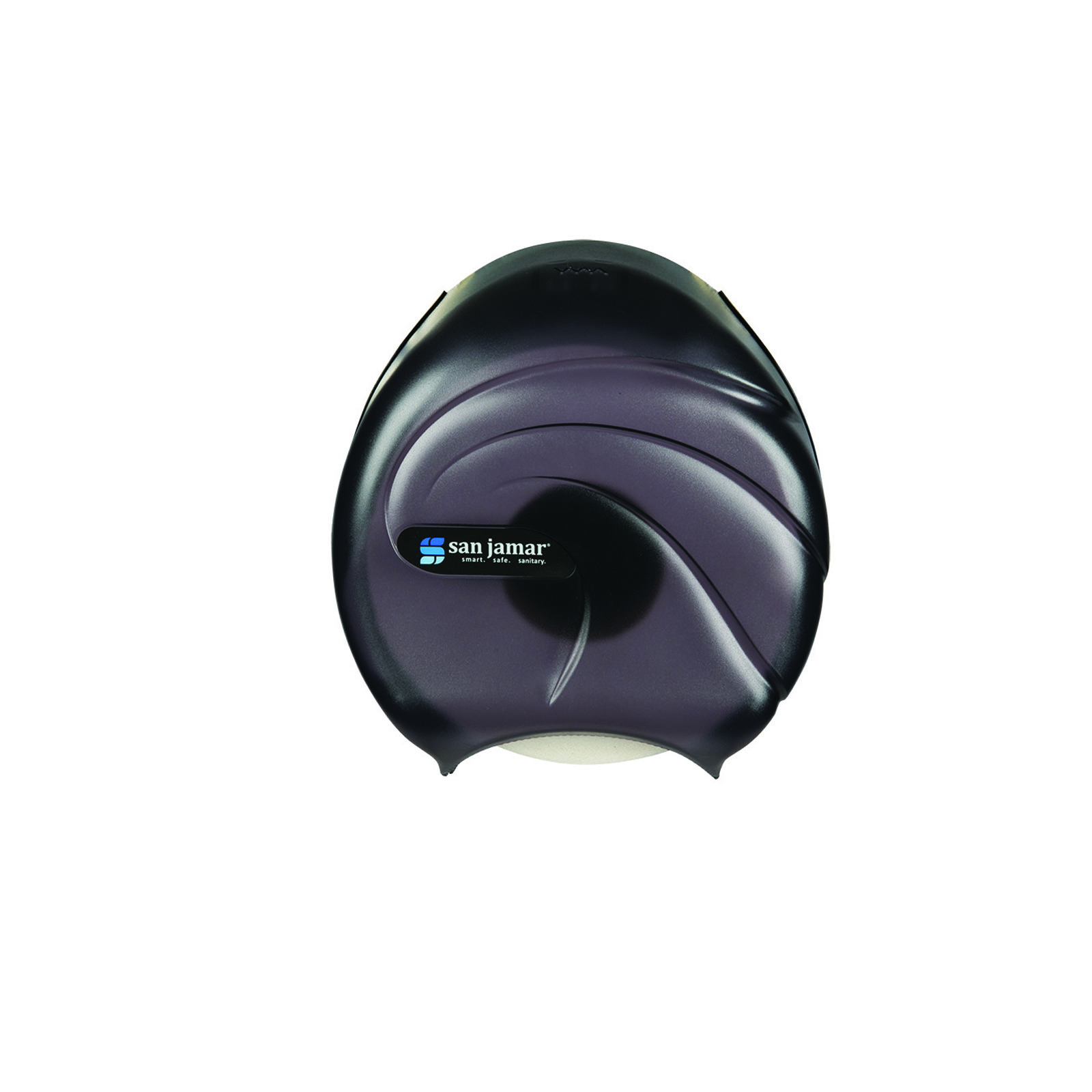 San Jamar R2090TBK toilet tissue dispenser