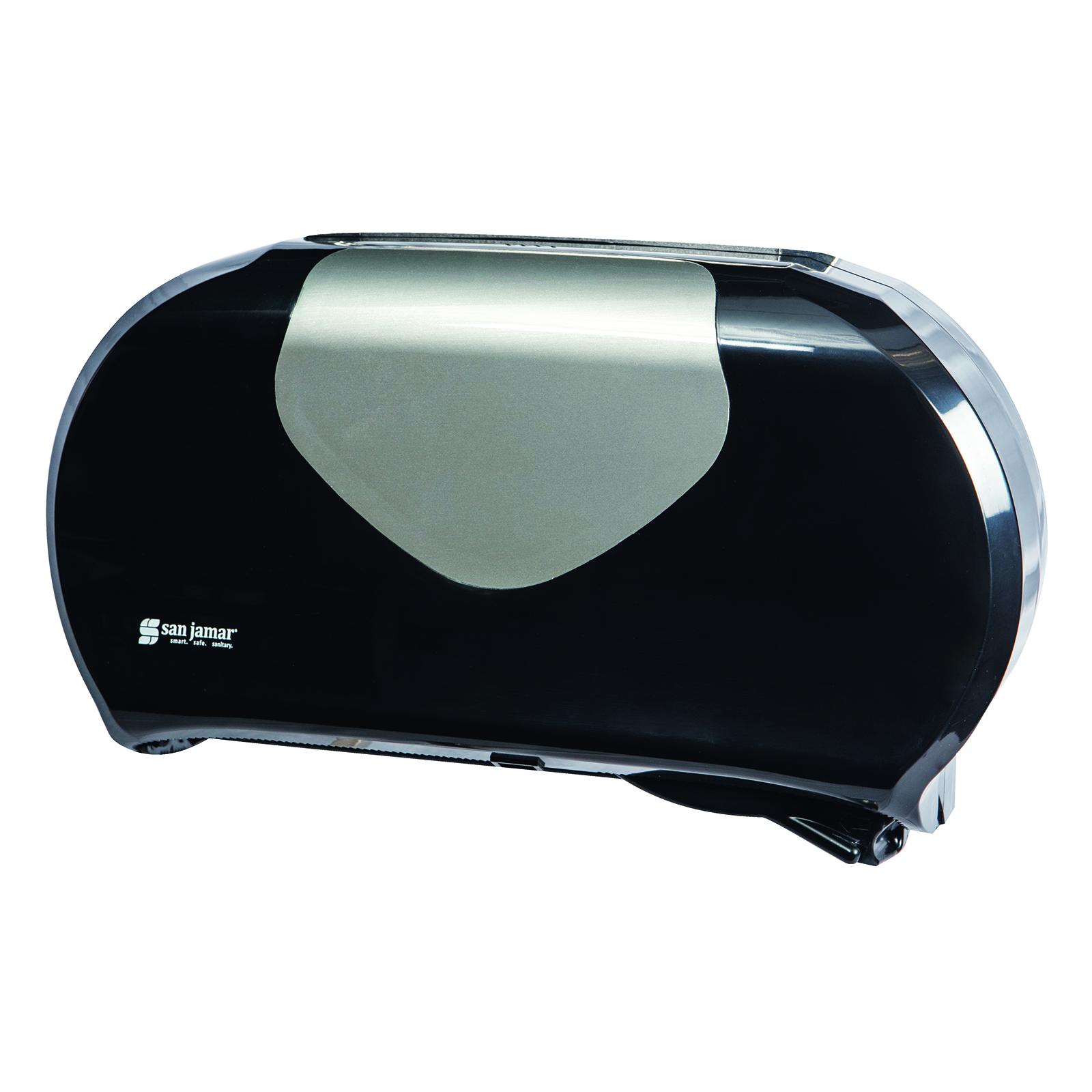 San Jamar R4070BKSS toilet tissue dispenser