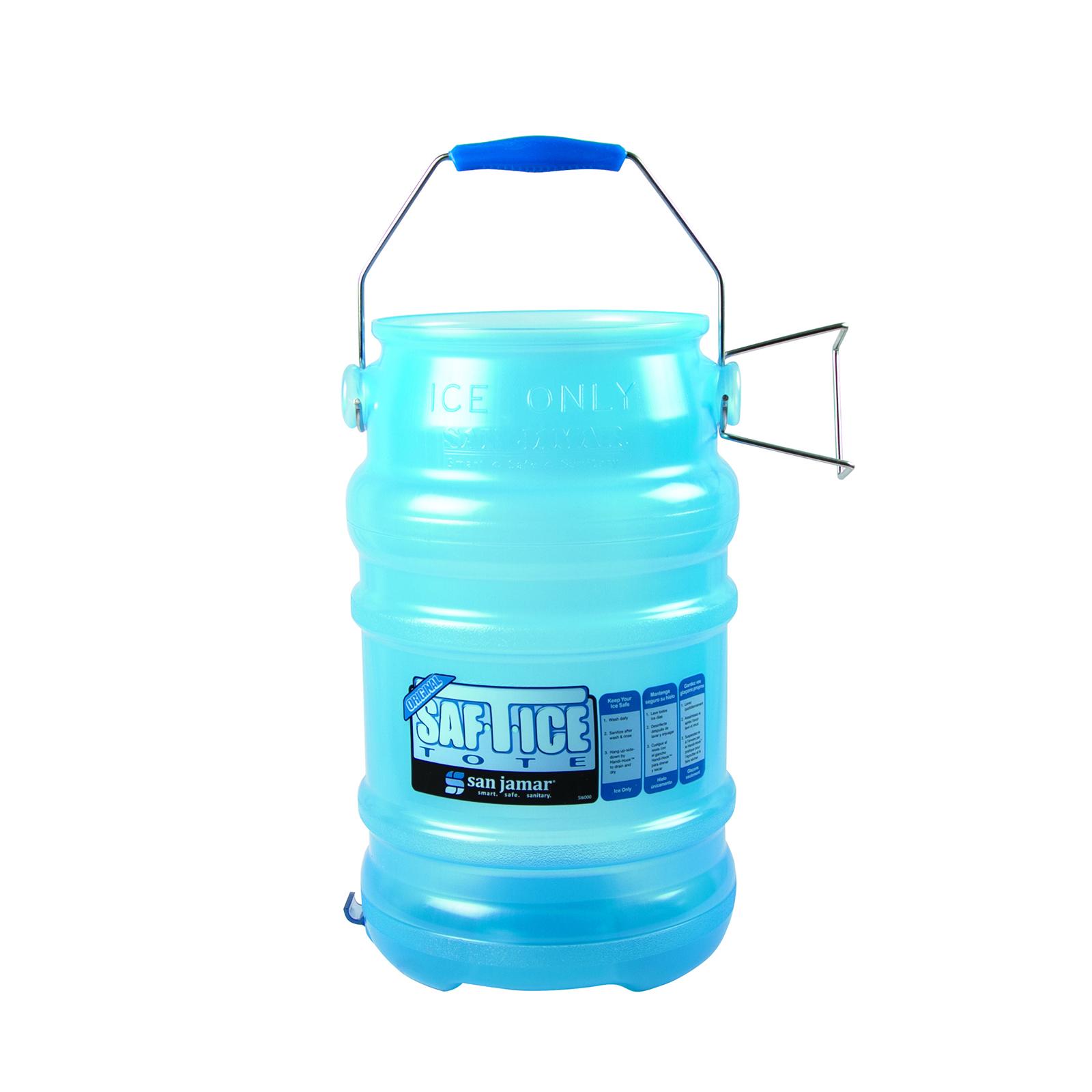 San Jamar SI6000BPAF ice tote