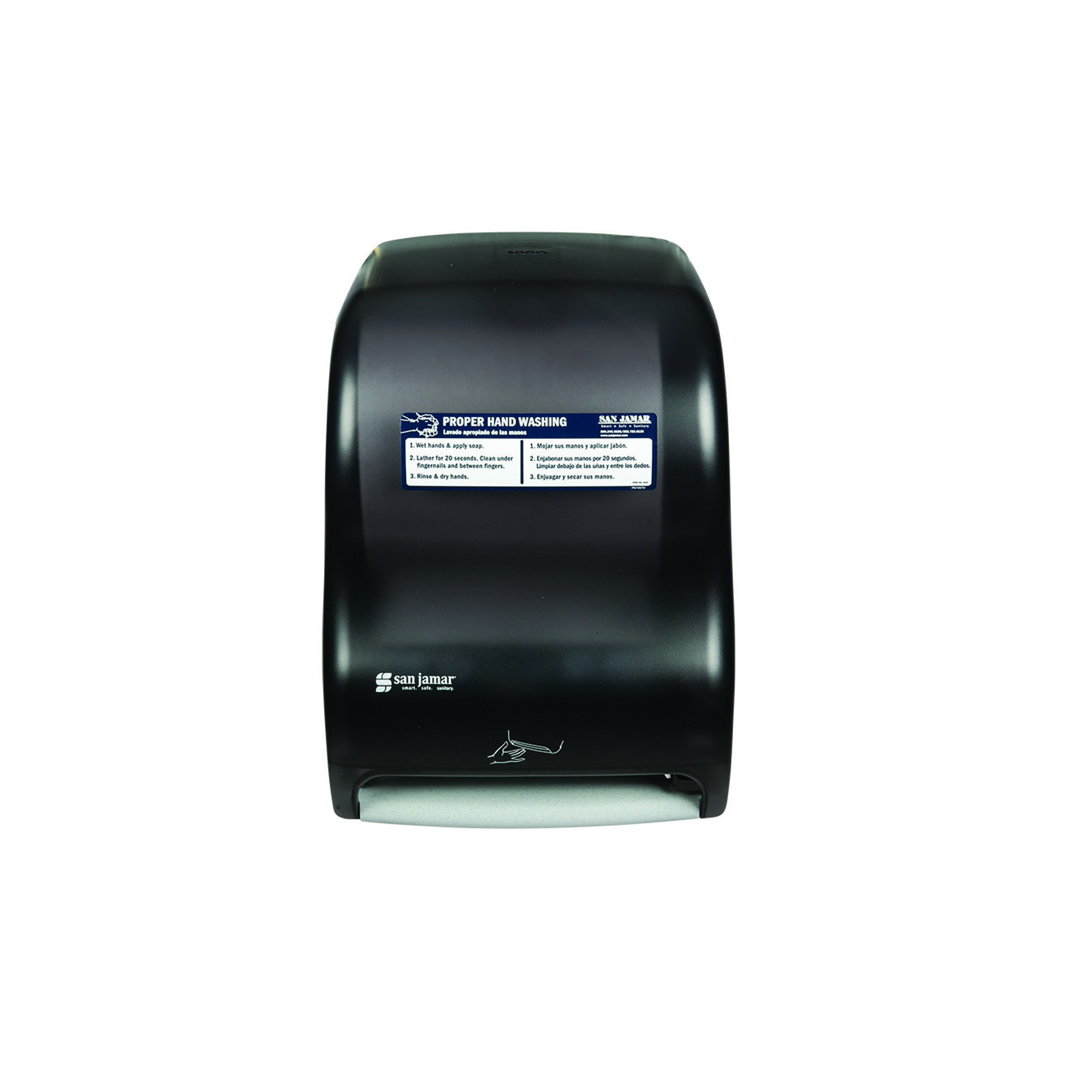 San Jamar T1400TBKHW paper towel dispenser