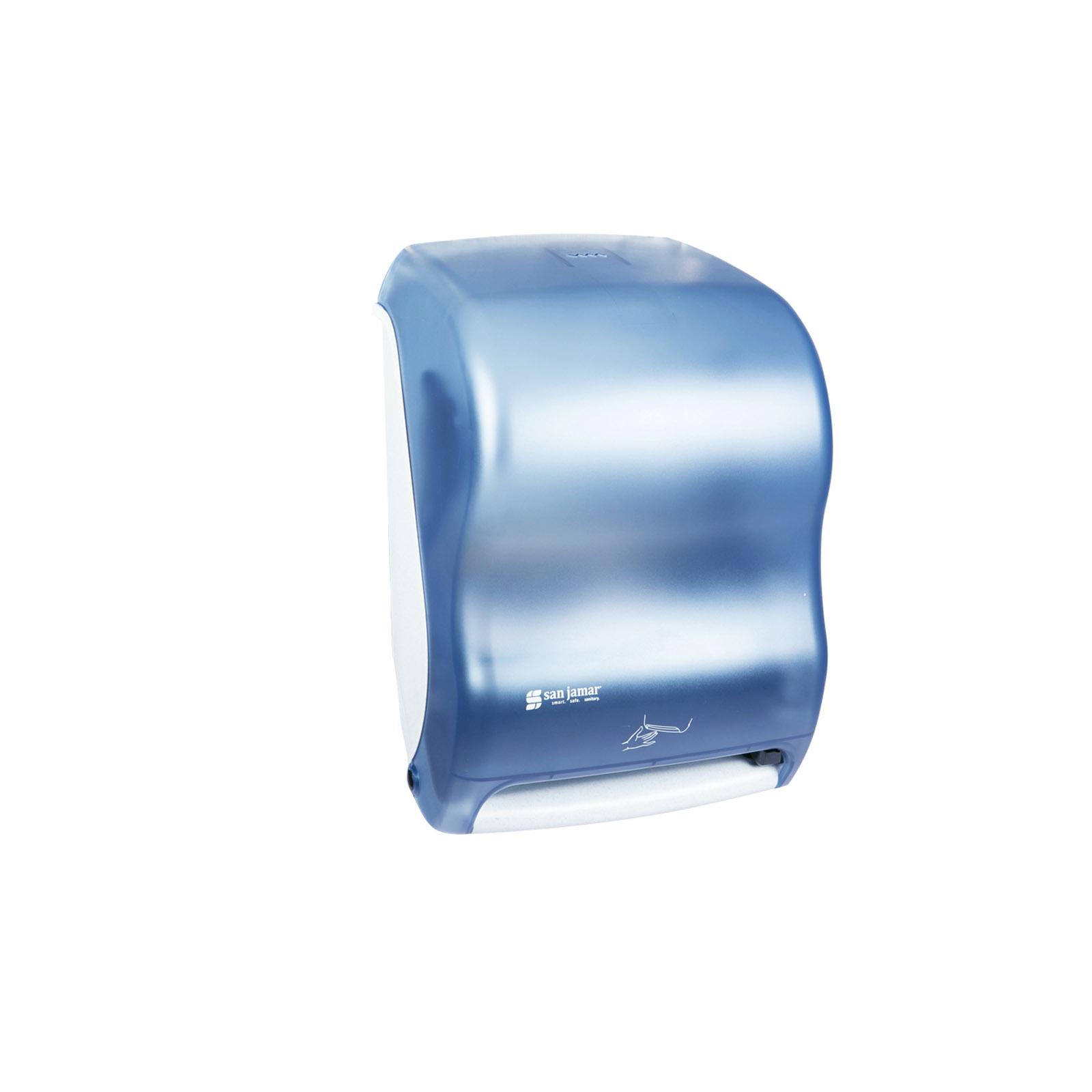 San Jamar T1400TBL paper towel dispenser