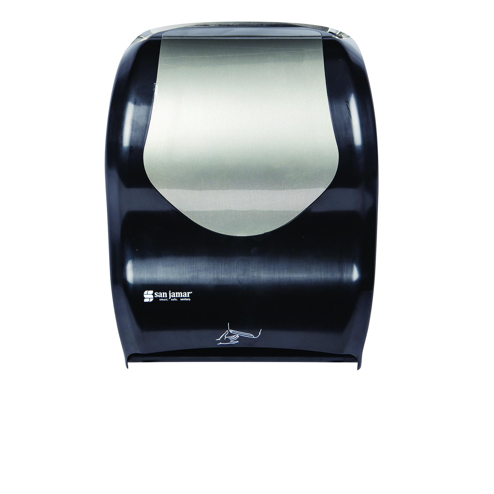 San Jamar T1470BKSS paper towel dispenser
