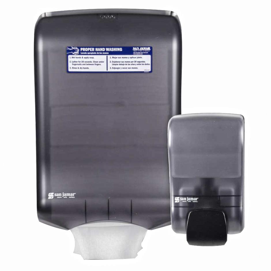 San Jamar T1730TBK paper towel dispenser
