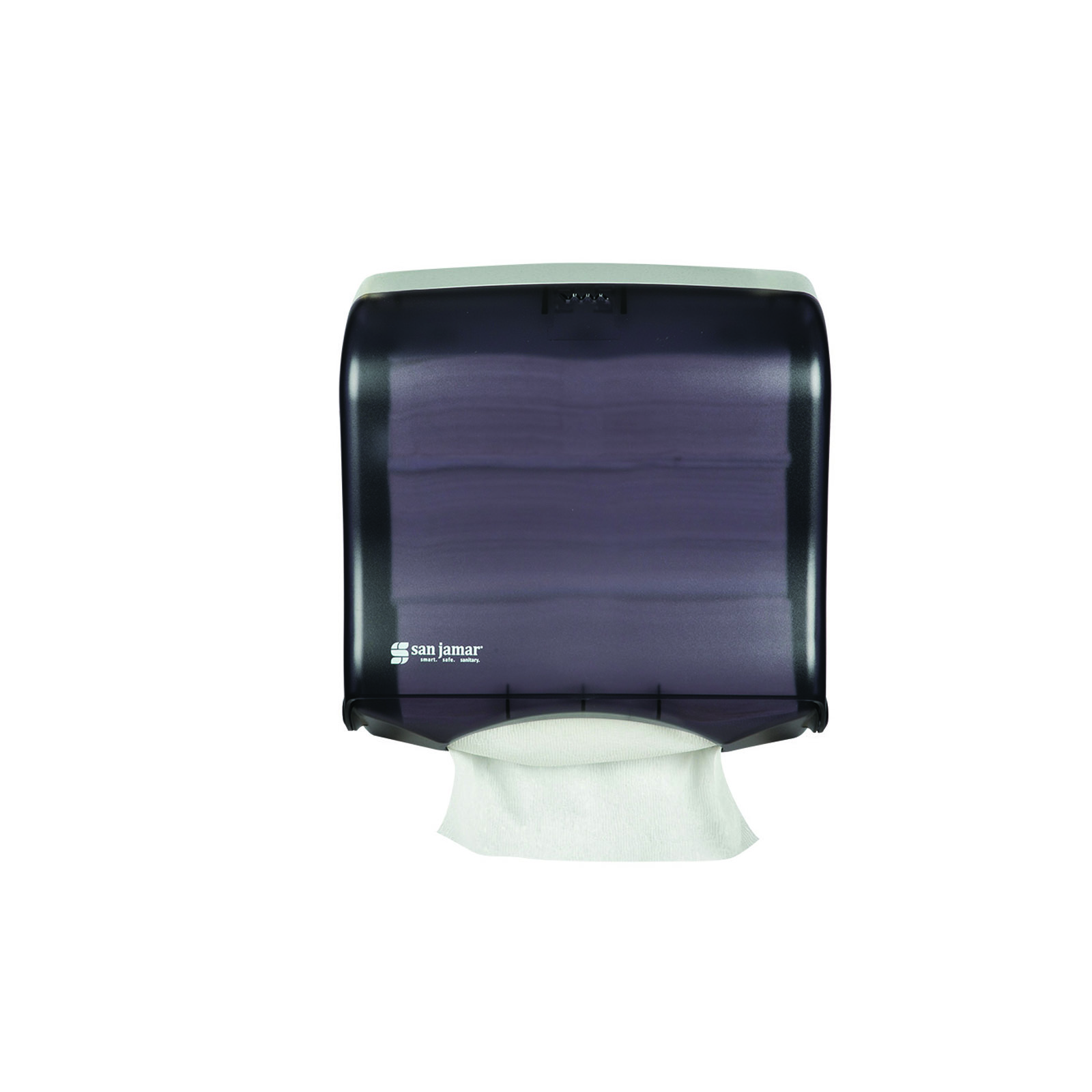San Jamar T1755TBK paper towel dispenser