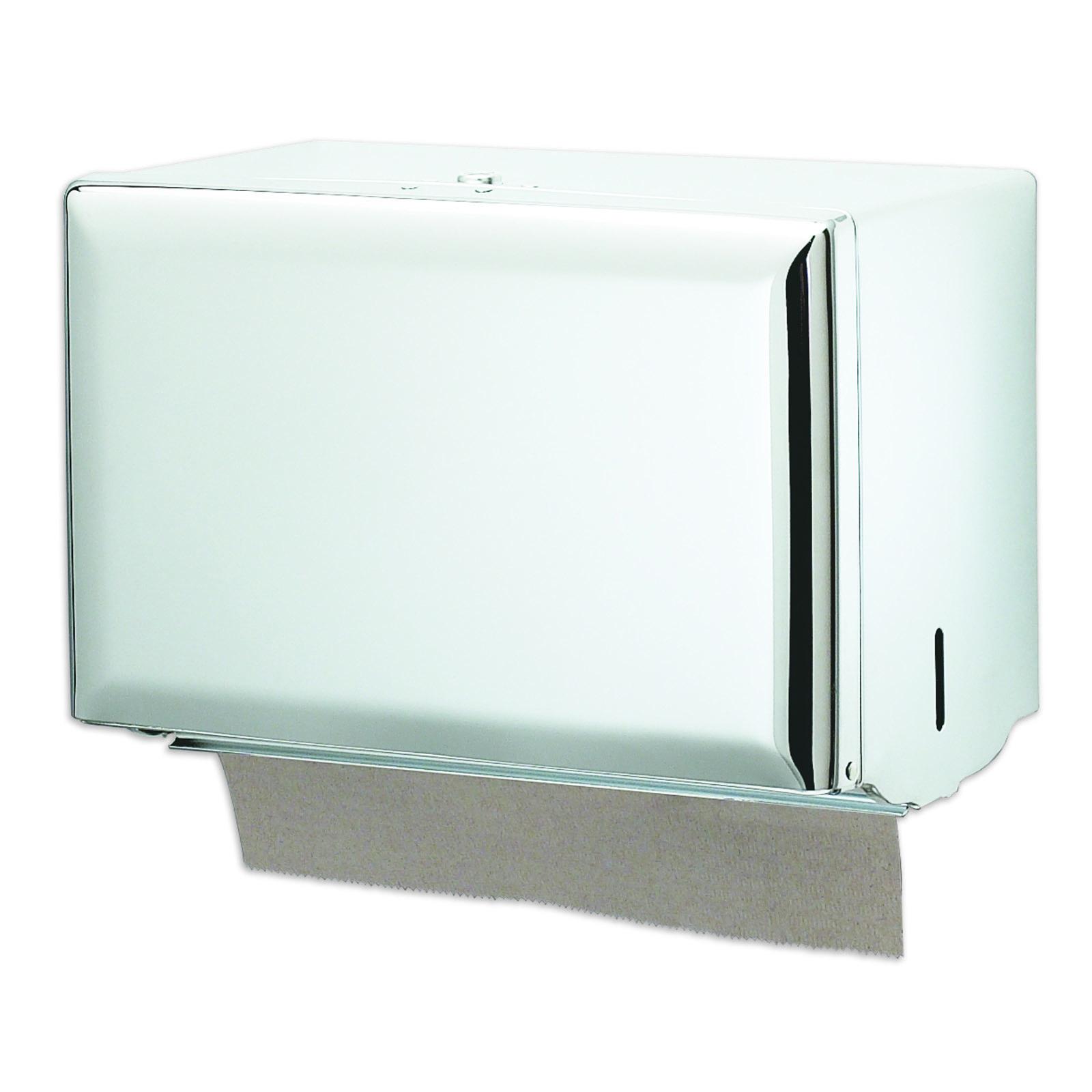 San Jamar T1800WH paper towel dispenser