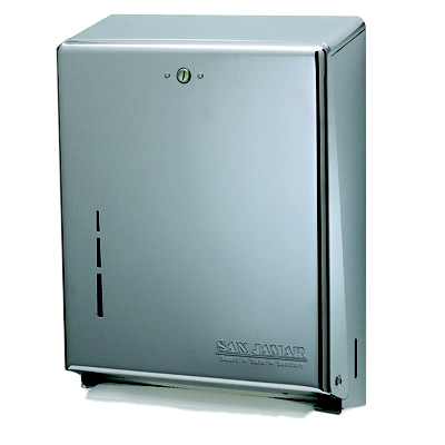 San Jamar T1900SS paper towel dispenser