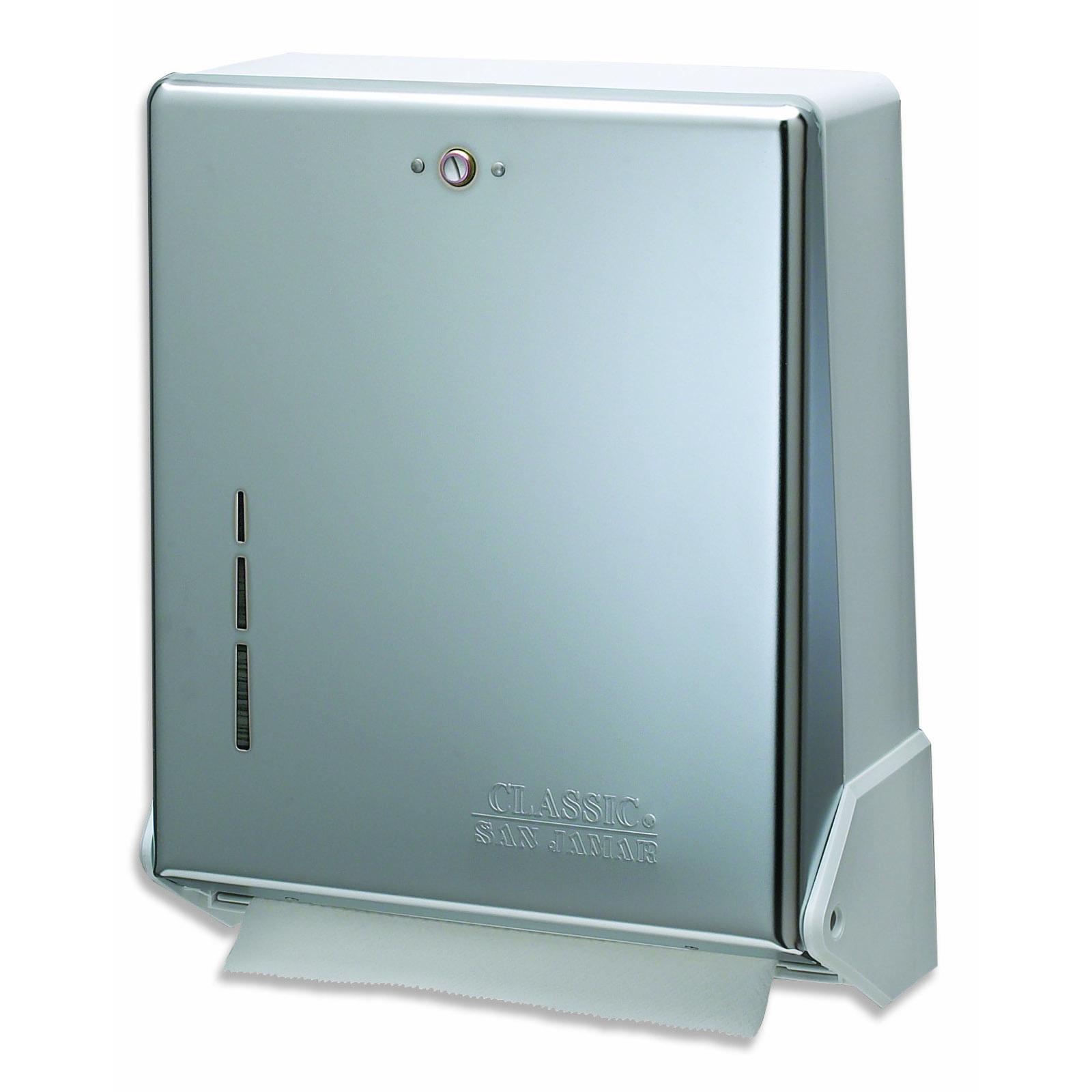 San Jamar T1905XC paper towel dispenser