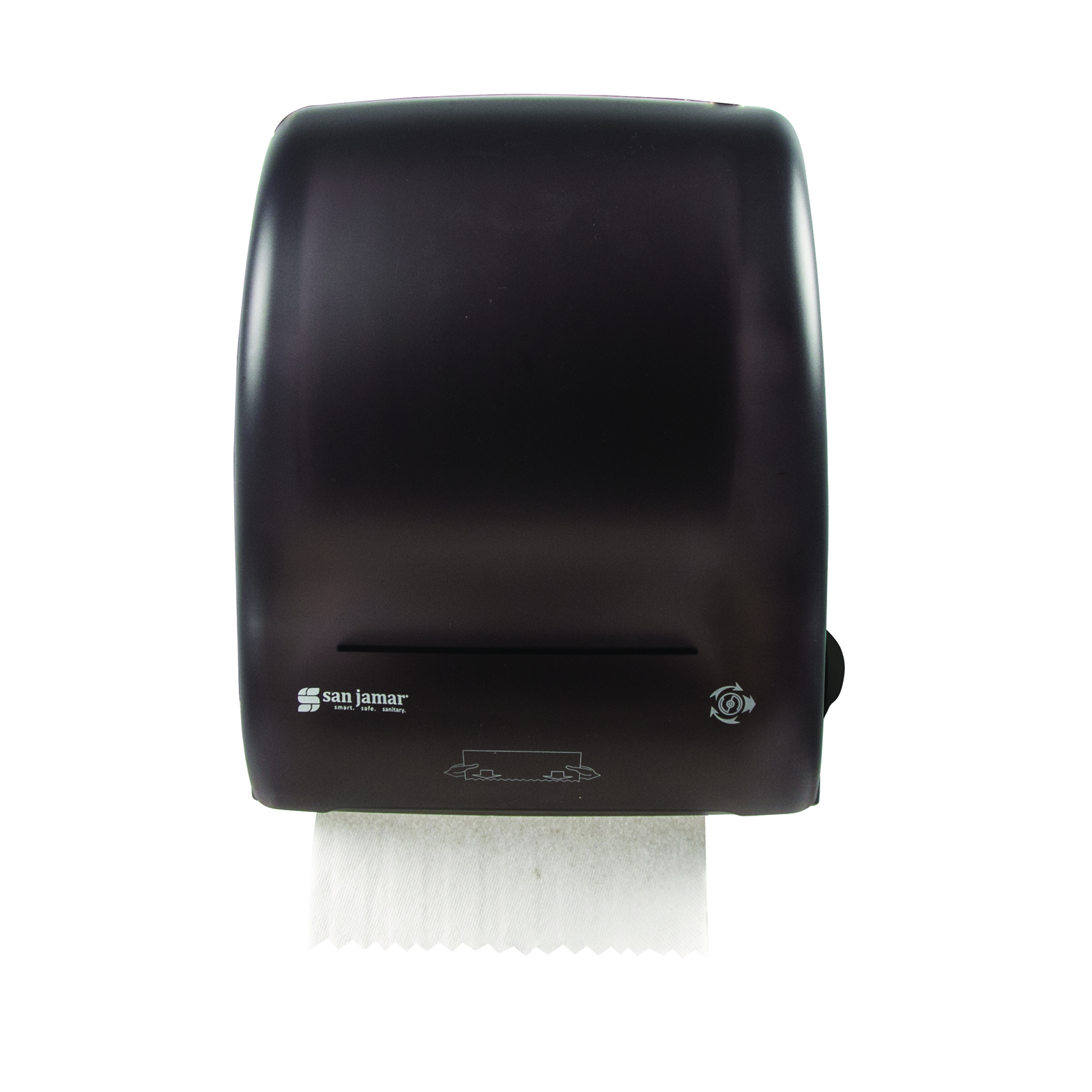 San Jamar T7400TBK paper towel dispenser