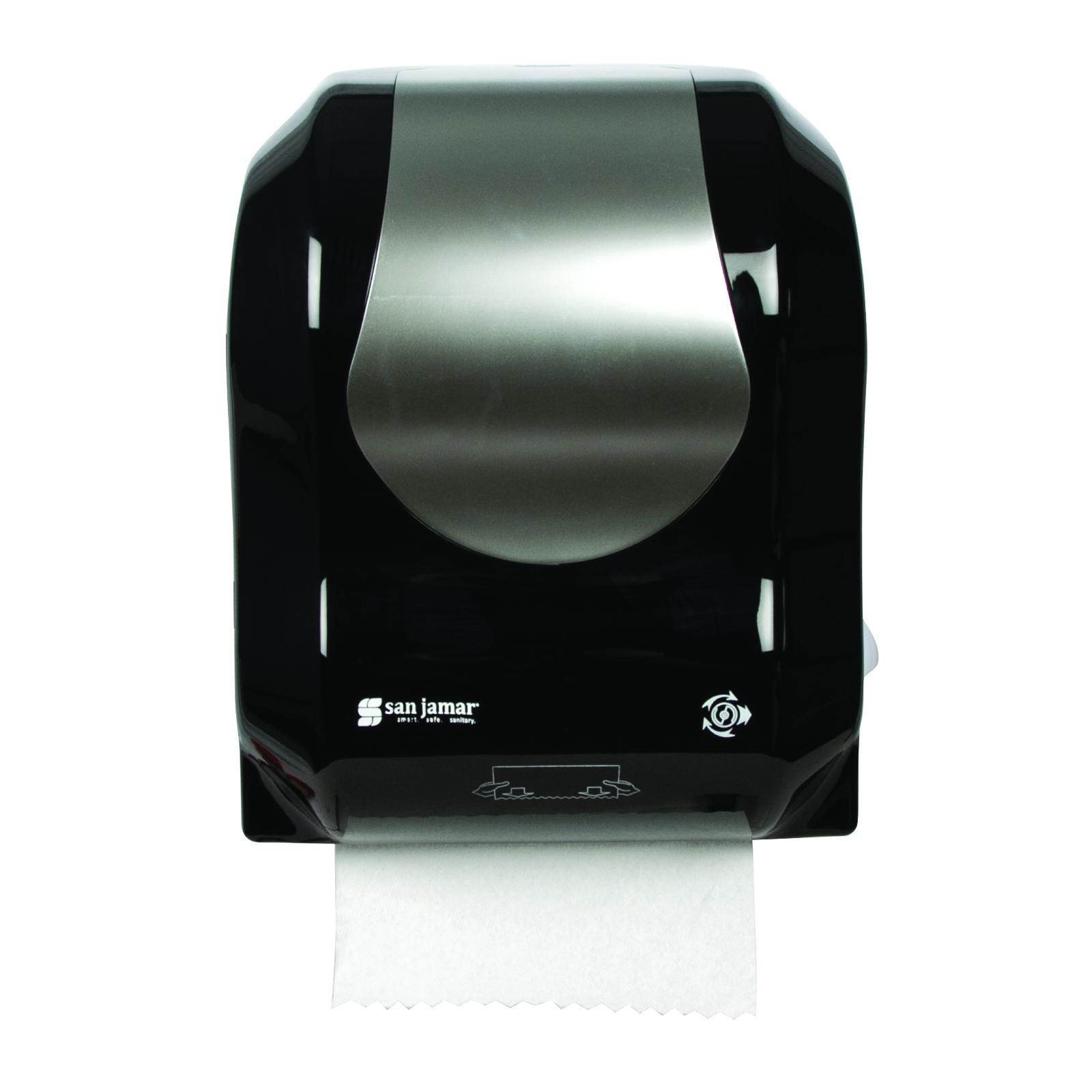 San Jamar T7470BKSS paper towel dispenser