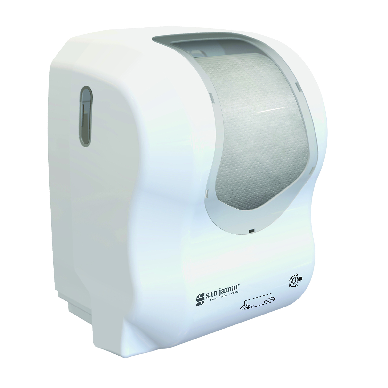 San Jamar T7470WHCL paper towel dispenser