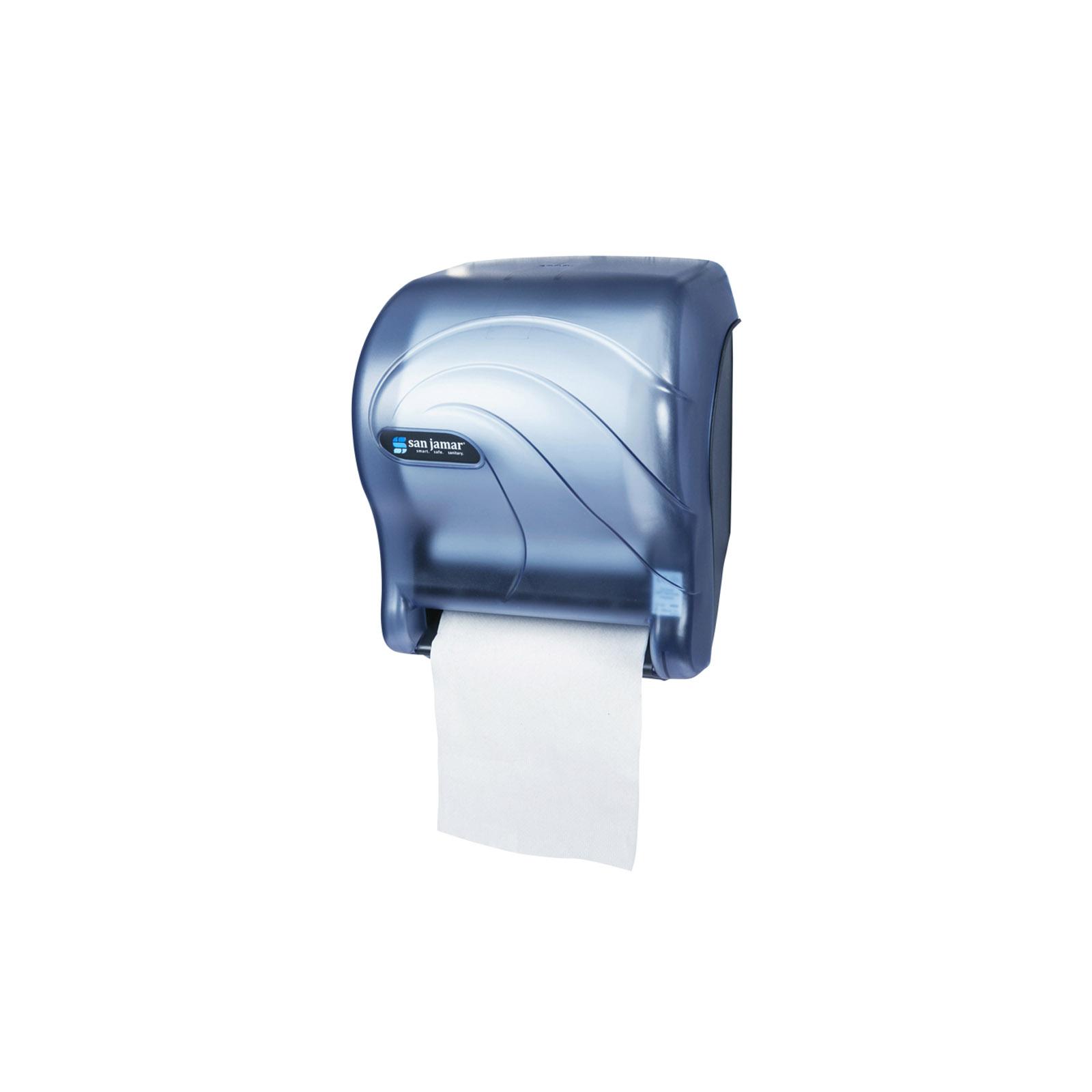 San Jamar T8090TBL paper towel dispenser