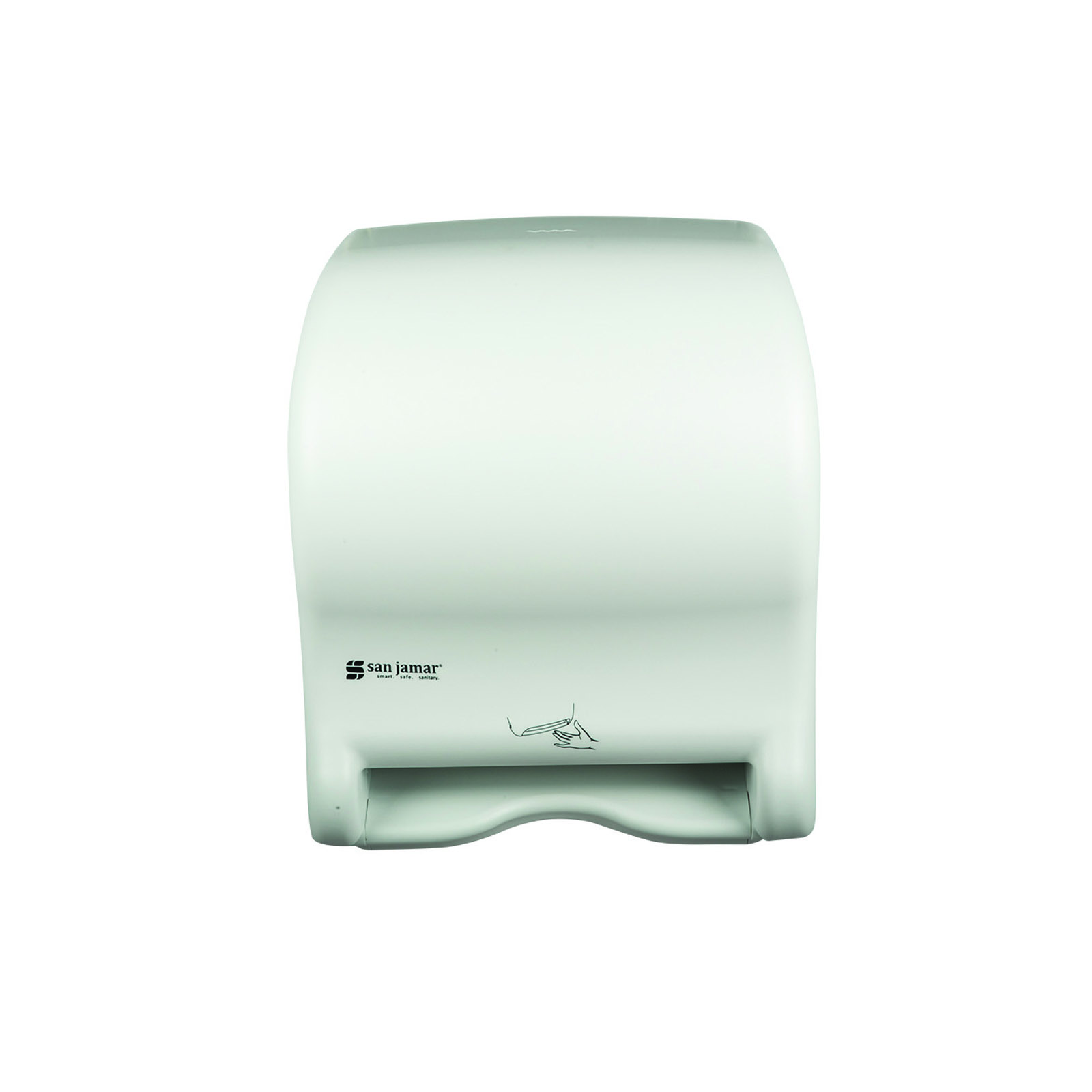 San Jamar T8400WH paper towel dispenser