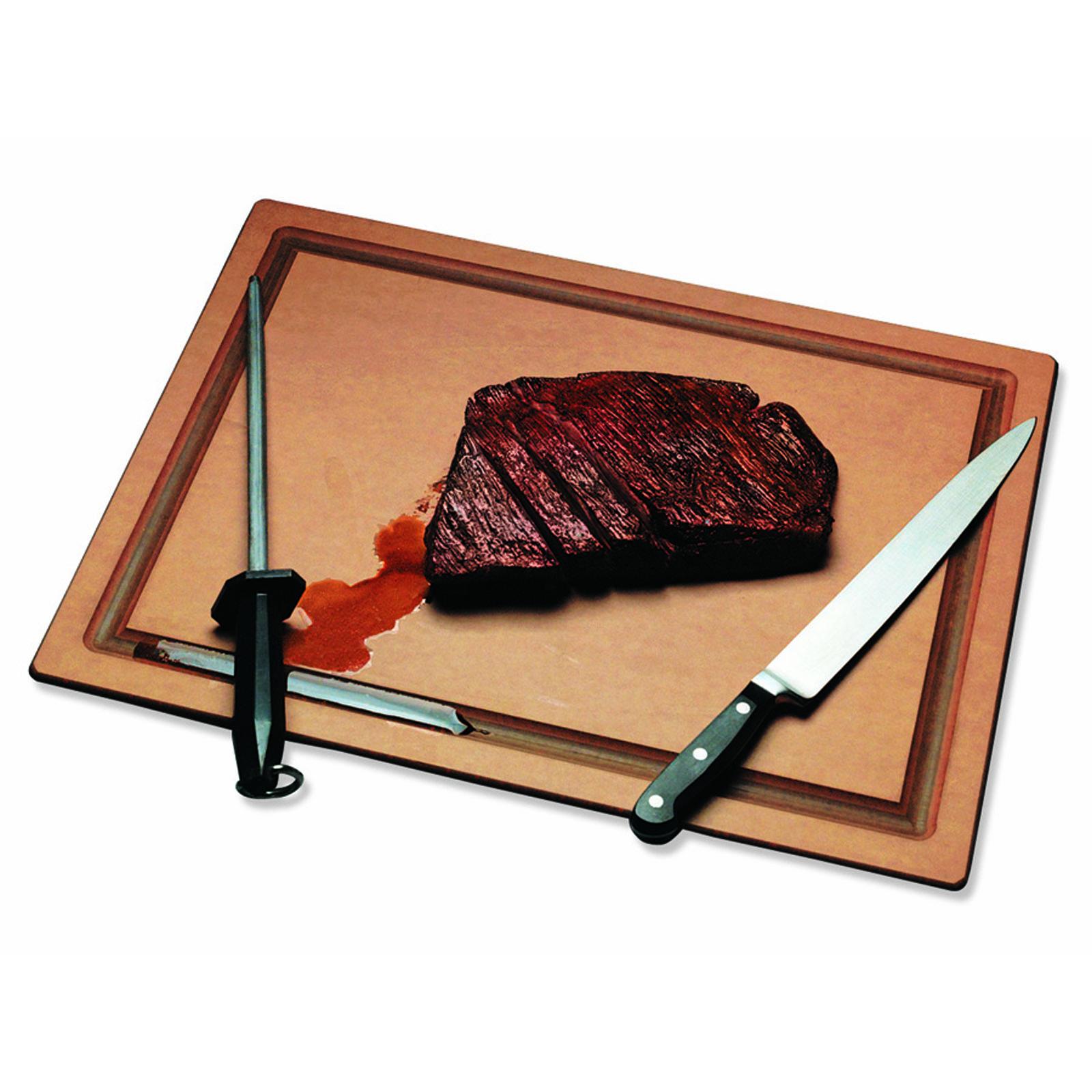 San Jamar TC121812GV cutting board, plastic