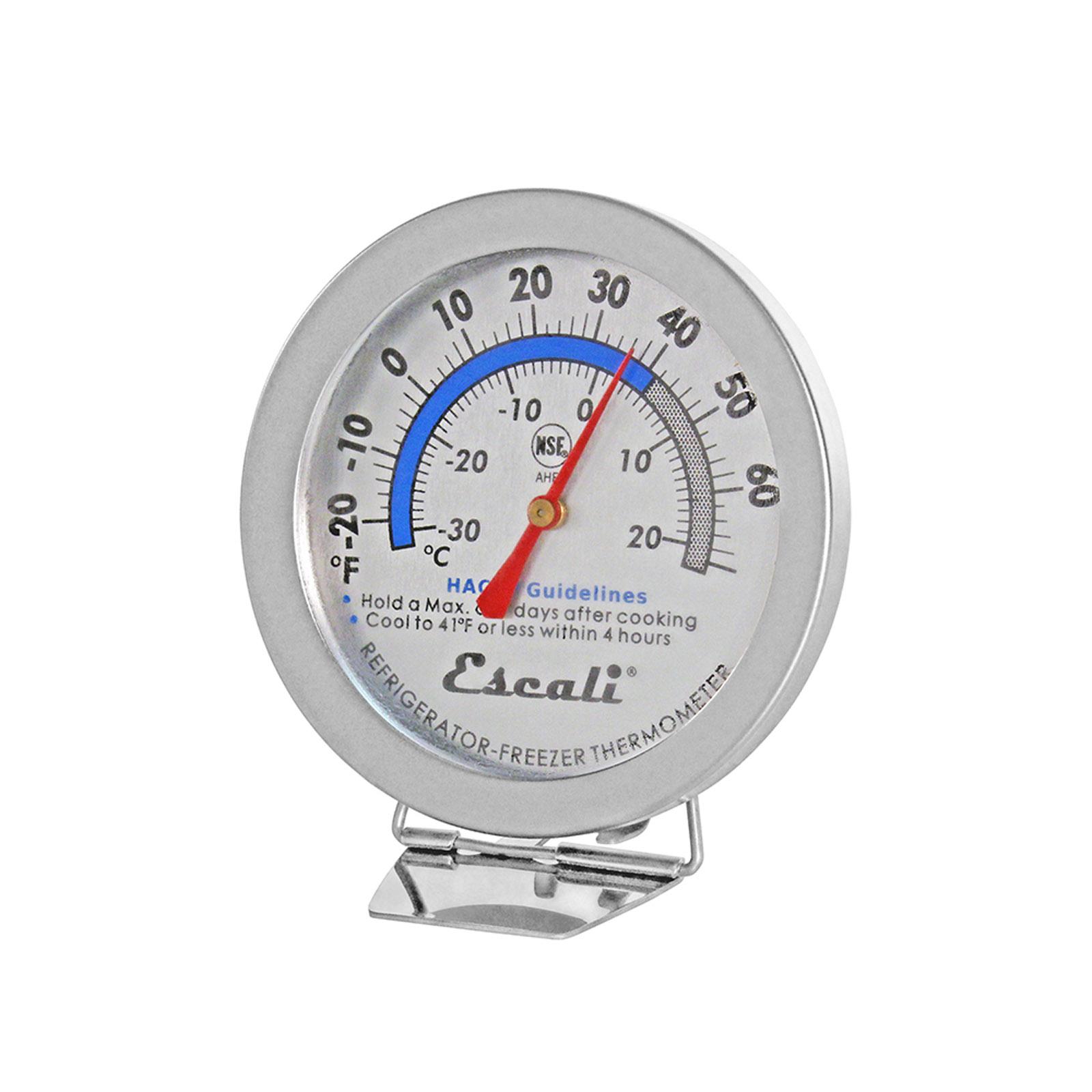 San Jamar THDLRFSS thermometer, refrig freezer
