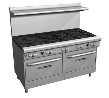 Southbend 4605AA-2GR range, 60 restaurant, gas
