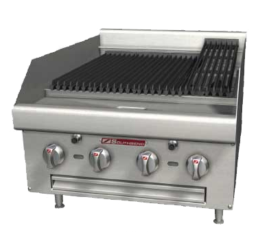 Southbend HDCL-48 charbroiler, gas, countertop