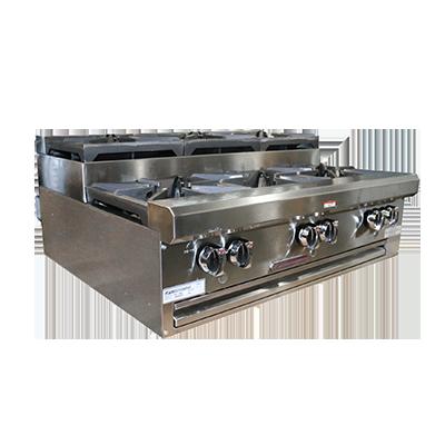 Southbend HDO-48SU hotplate, countertop, gas