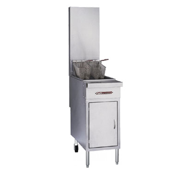 Southbend P16C-PF45 fryer, gas, floor model, full pot