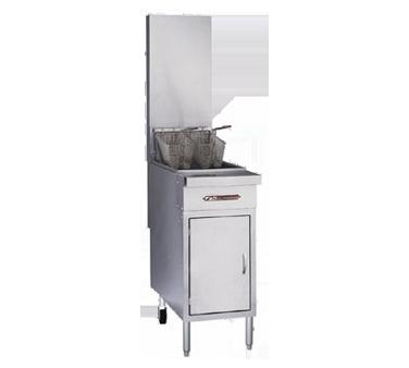 Southbend P16C-PF45 fryer, gas, floor model, full pot