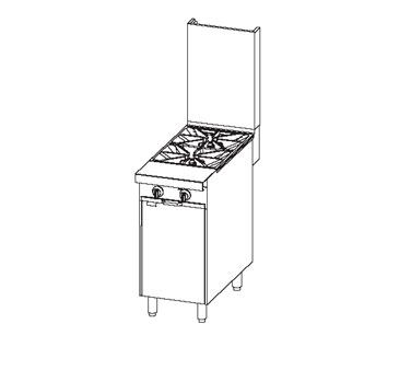 Southbend P16C-X range, 16