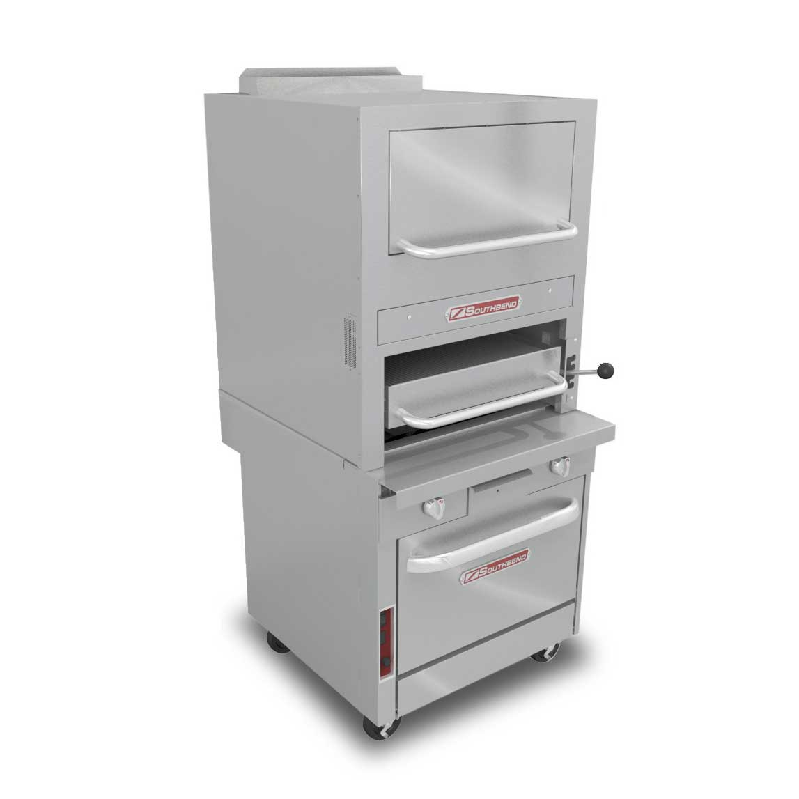 Southbend P32C-32B broiler, deck-type, gas