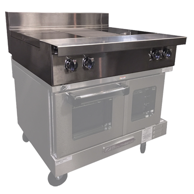 Southbend P36N-ISI induction range, modular