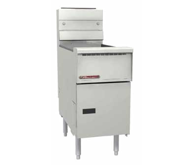 Southbend SB18 fryer, gas, floor model, full pot