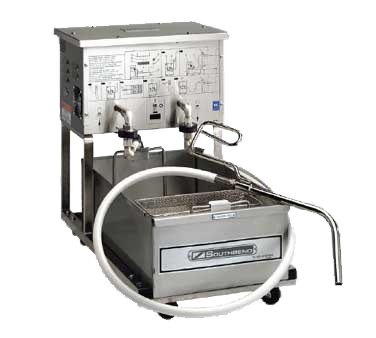 Southbend SBF14 fryer filter, mobile